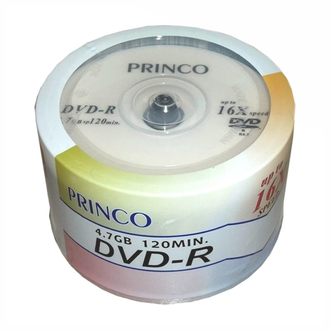 دی وی دی خام پرینکو بسته 50 عددی