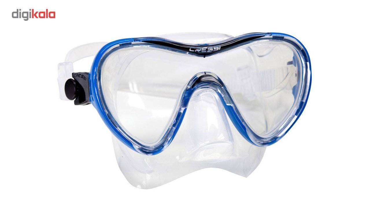 ماسک کرسی مدل Sky Blue  Cressi Sky Mask Blue