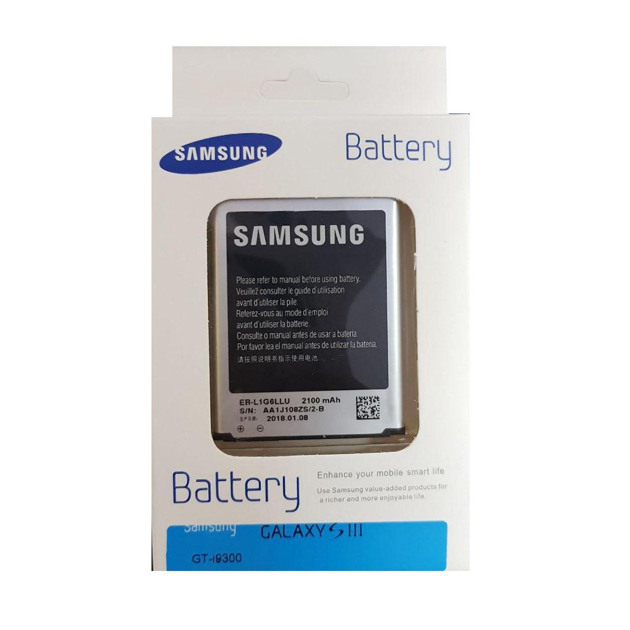 باتری موبایل سامسونگ مدل EB-L1G6LLU مناسب برای گوشی موبایل GALAXY S3