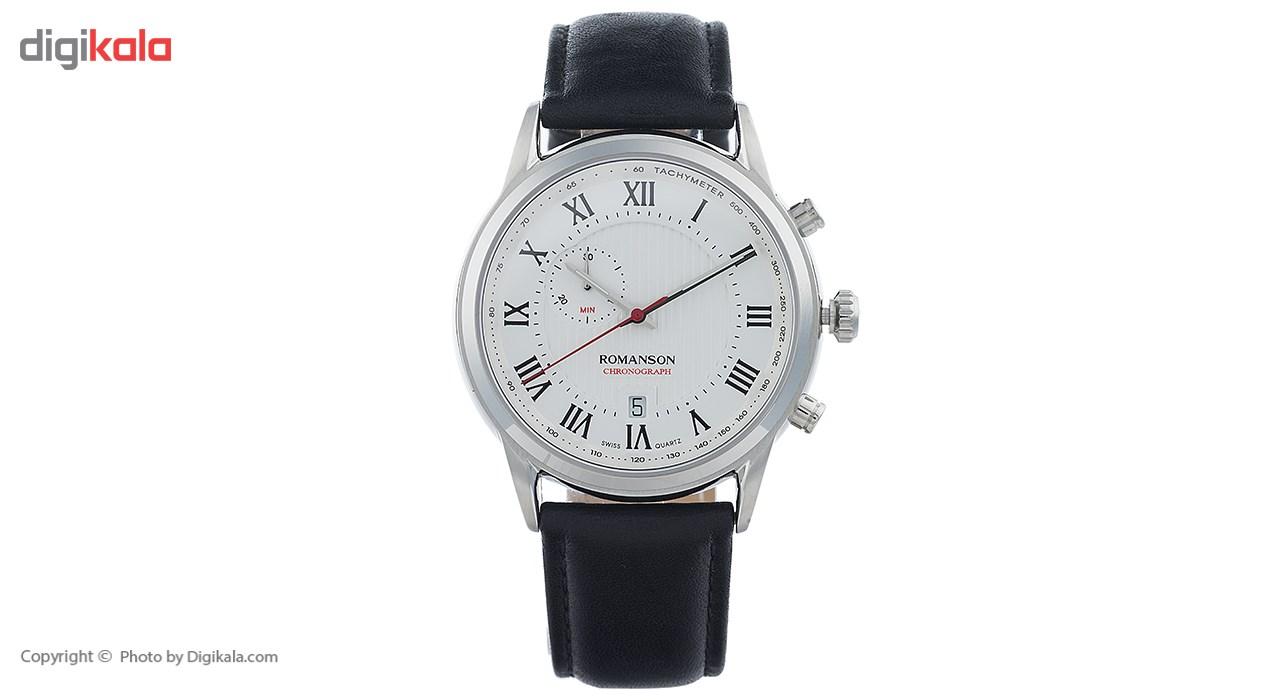 خرید ساعت مچی عقربه ای مردانه رومانسون مدل TL5A22HMBWASI5