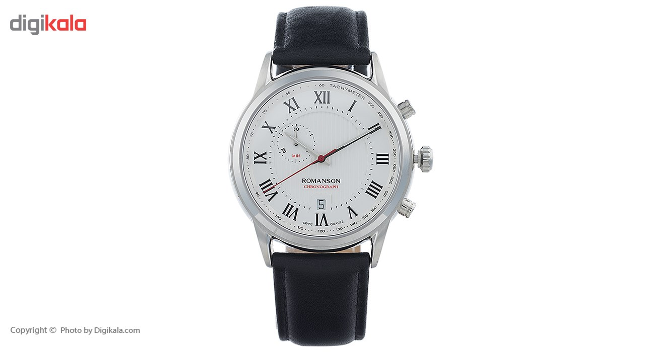 ساعت مچی عقربه ای مردانه رومانسون مدل TL5A22HMBWASI5