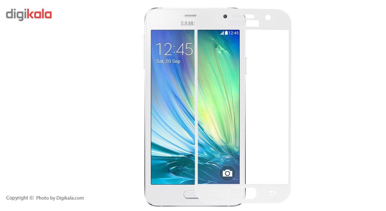 محافظ صفحه نمایش شیشه ای ریمکس مدل Full Cover مناسب برای گوشی موبایل  سامسونگ Galaxy A3 2017 main 1 1