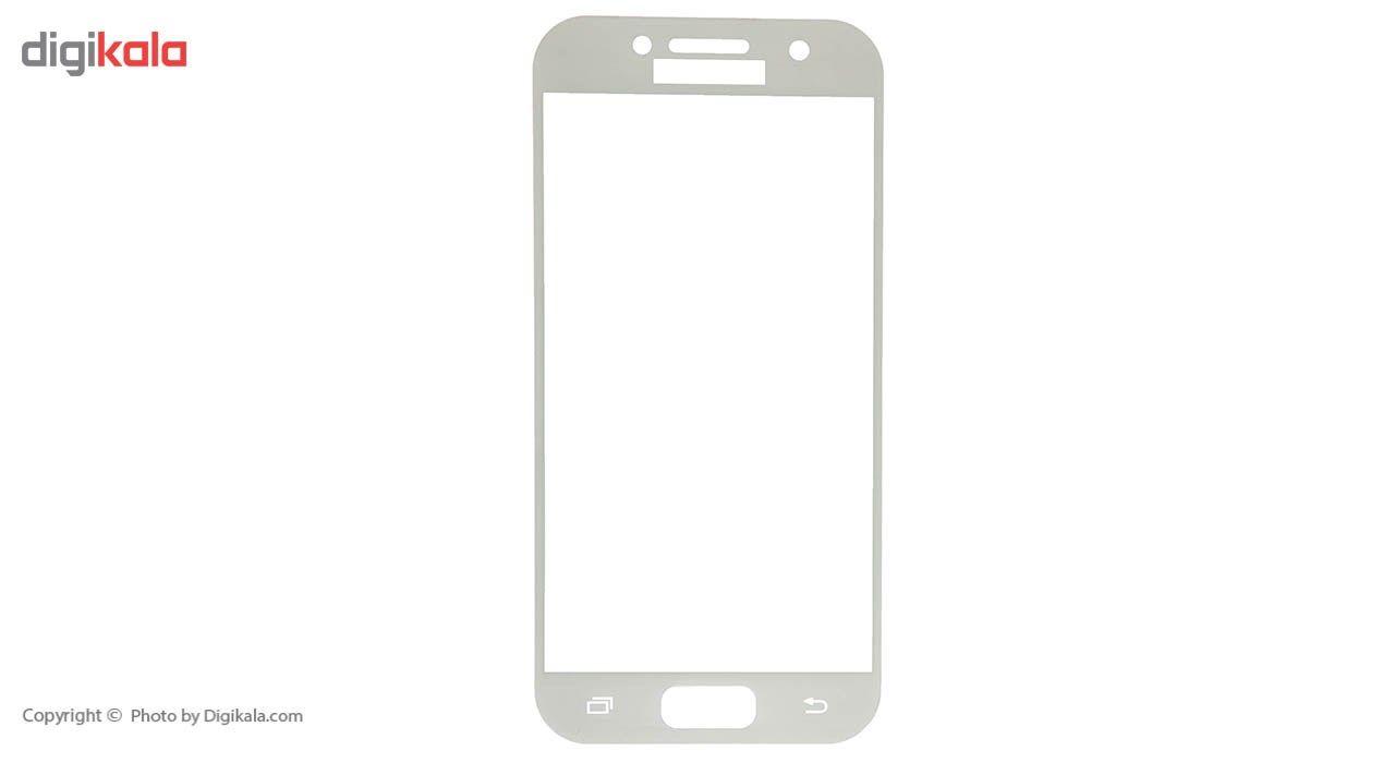 محافظ صفحه نمایش شیشه ای ریمکس مدل Full Cover مناسب برای گوشی موبایل  سامسونگ Galaxy A3 2017 main 1 3