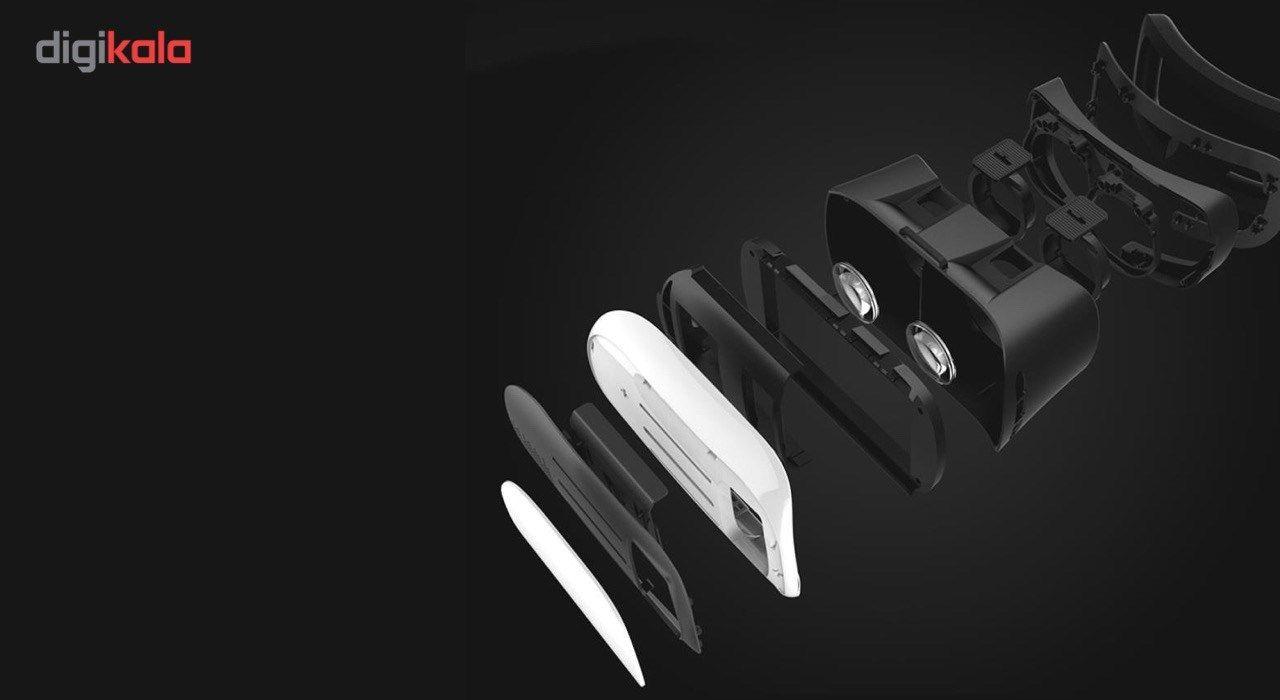 هدست واقعیت مجازی وی آر باکس مدل VR Box 2 به همراه ریموت کنترل بلوتوث و DVD  حاوی اپلیکیشن و باتری main 1 11