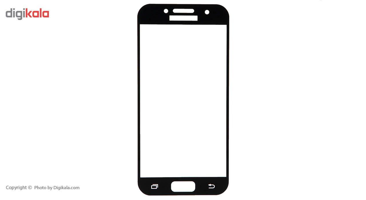 محافظ صفحه نمایش شیشه ای ریمکس مدل Full Cover مناسب برای گوشی موبایل  سامسونگ Galaxy A3 2017 main 1 4