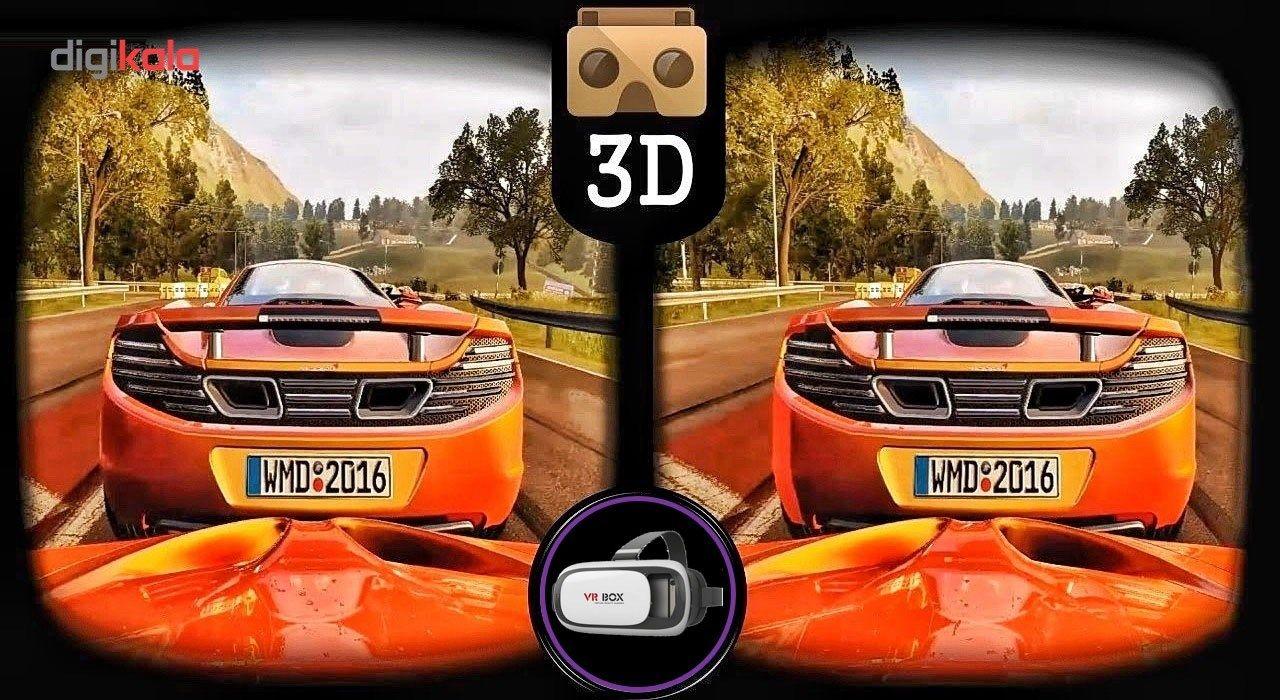 هدست واقعیت مجازی وی آر باکس مدل VR Box 2 به همراه ریموت کنترل بلوتوث و DVD  حاوی اپلیکیشن و باتری main 1 15