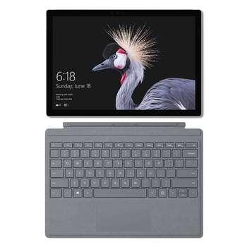 تبلت مایکروسافت مدل- Surface Pro 2017 - C به همراه کیبورد Silver Signature  و کیف  Maroo Sleeve - ظرفیت 256  گیگابایت