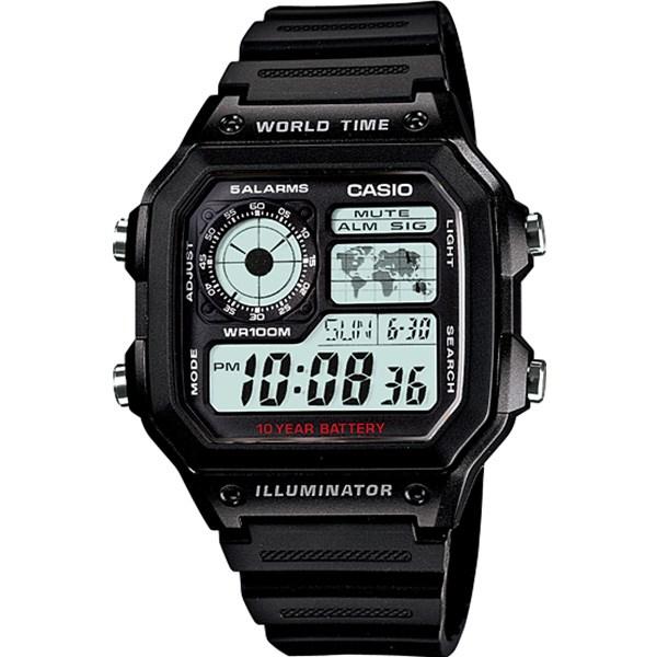 خرید ساعت مچی دیجیتالی کاسیو AE-1200WH-1AVDF