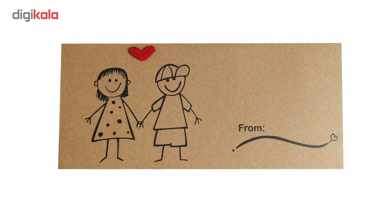 پاکت هدیه طرح  Fantastic Art بسته 10 عددی main 1 4