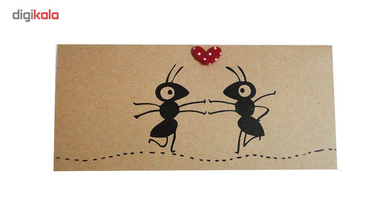 پاکت هدیه طرح  Fantastic Art بسته 10 عددی main 1 11