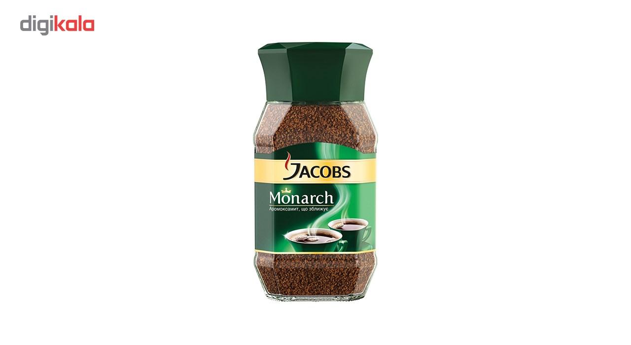 قوطی قهوه فوری جاکوبز مدل مونارک 190 گرمی