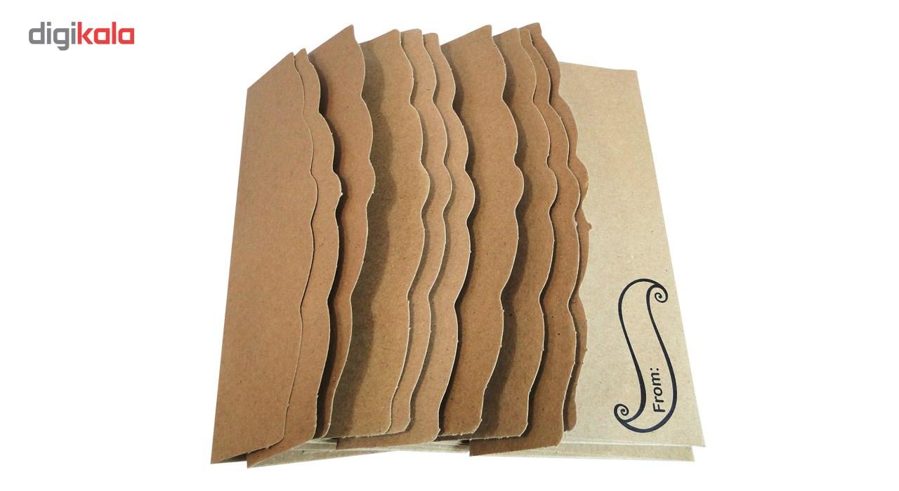 پاکت هدیه طرح  Fantastic Art بسته 10 عددی main 1 12