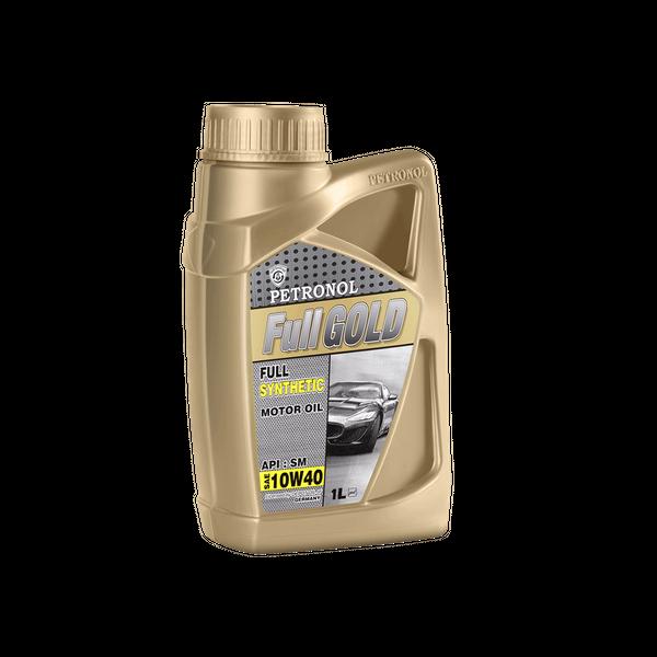 روغن موتور خودرو پترونول مدل  فول گلد سینتتیک SAE 10W-40 ظرفیت 1 لیتر
