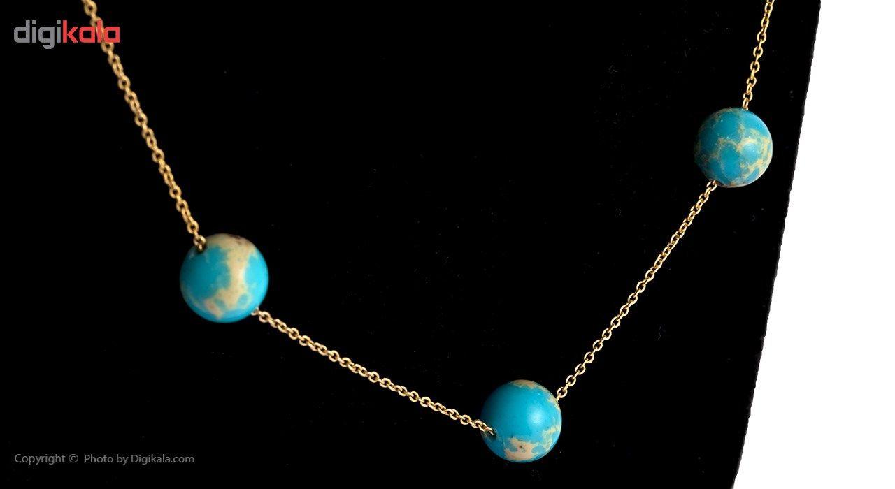 گردنبند طلا 18 عیار ماهک مدل MM0526 - مایا ماهک -  - 3