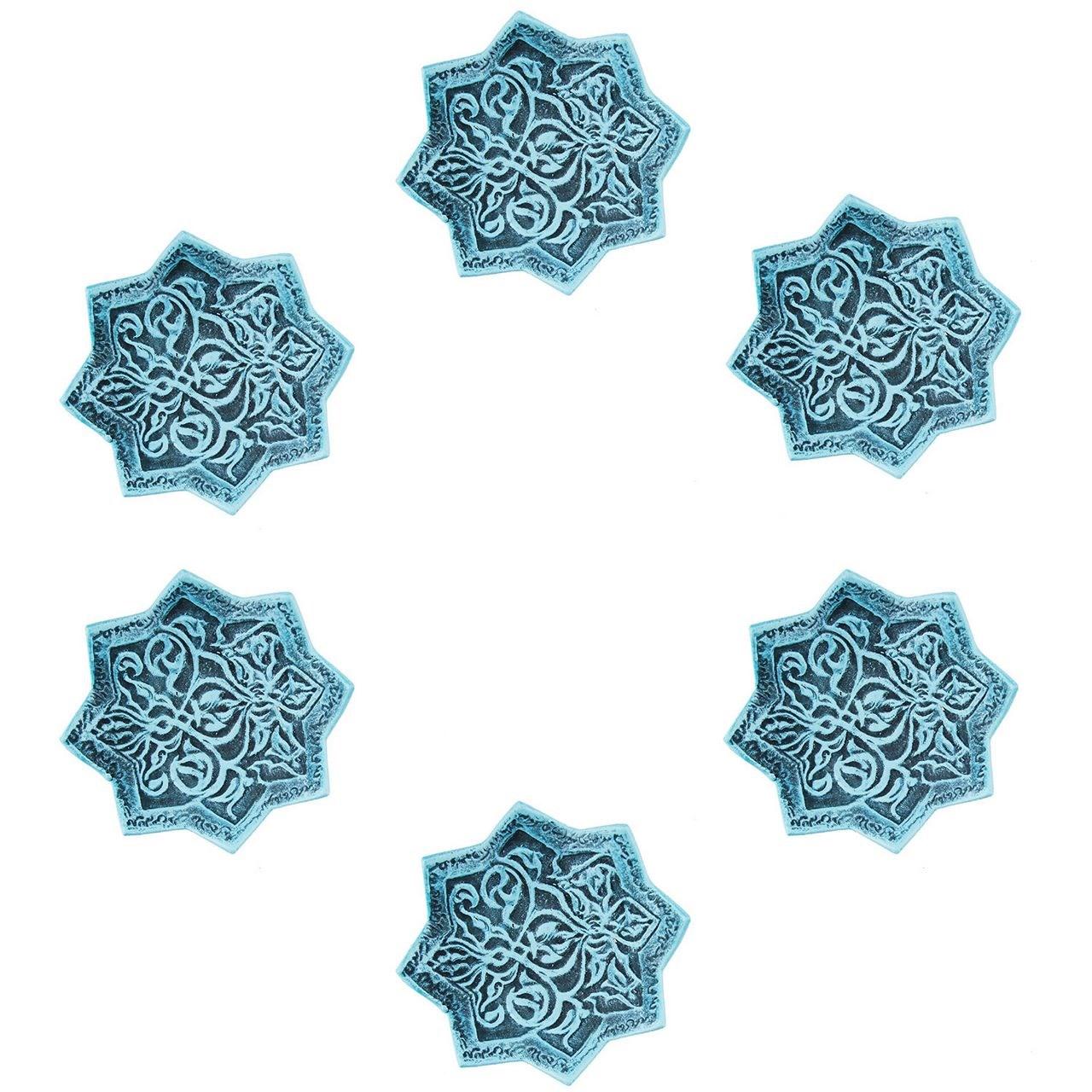 عکس مجموعه شش عددی ظروف سفالی گالری آسوریک کد 89094