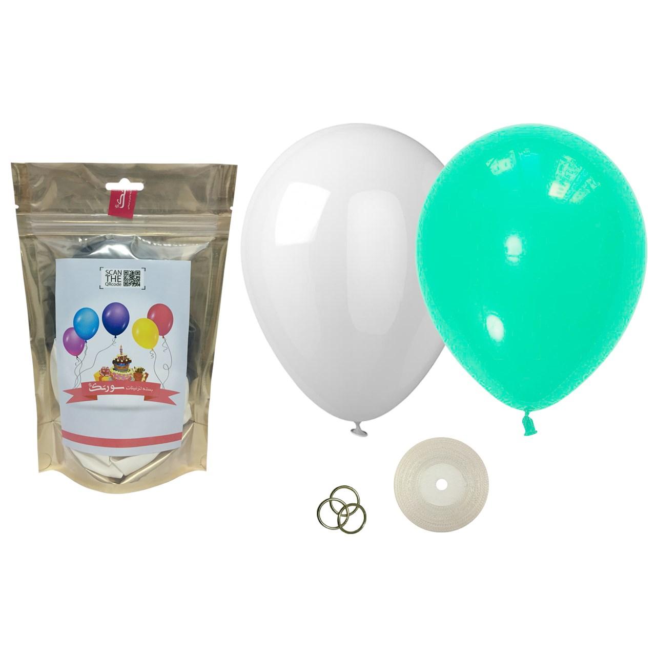 عکس پک بادکنک آرایی Helium Quality سورتک مدل STLH-12
