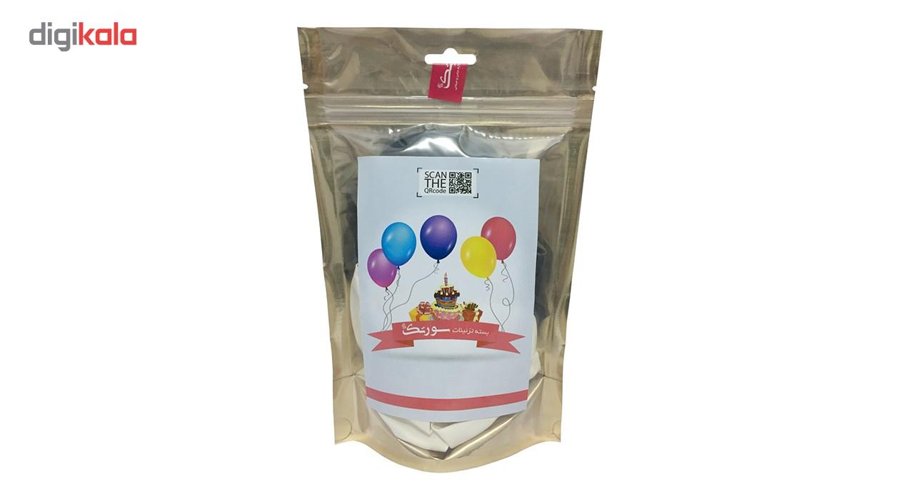 پک بادکنک آرایی Helium Quality سورتک مدل STLH-12