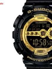 ساعت مچی دیجیتالی مردانه کاسیو جی شاک GD-100GB-1DR -  - 1