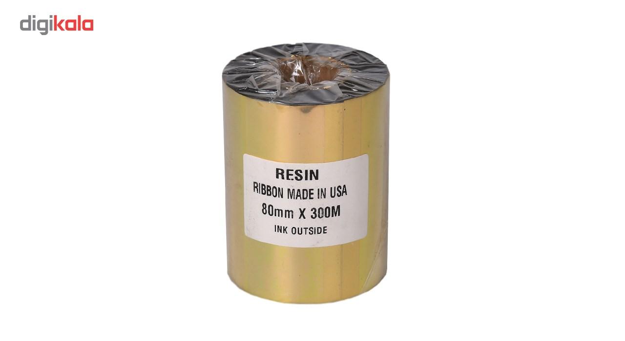 قیمت                      ریبون پرینتر لیبل زن NP مدل Resin 80mm x 300m