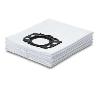 کیسه جاروبرقی کرشر مدل Fleece filter bag بسته 4 عددی