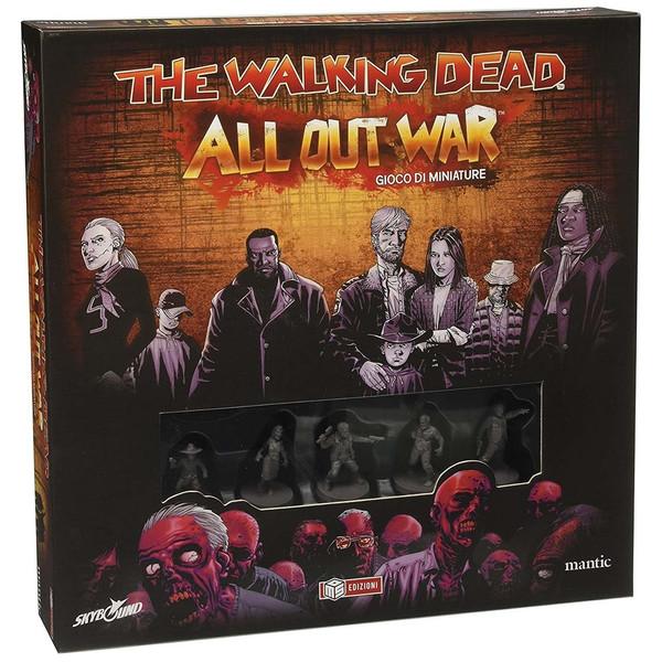 بازی رومیزی منتیک مدل The Walking Dead All out War