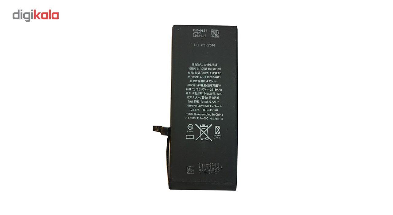 باتری موبایل مدل 0772-616 APN با ظرفیت 2915mAh مناسب برای گوشی موبایل اپل آیفون plus 6 main 1 2