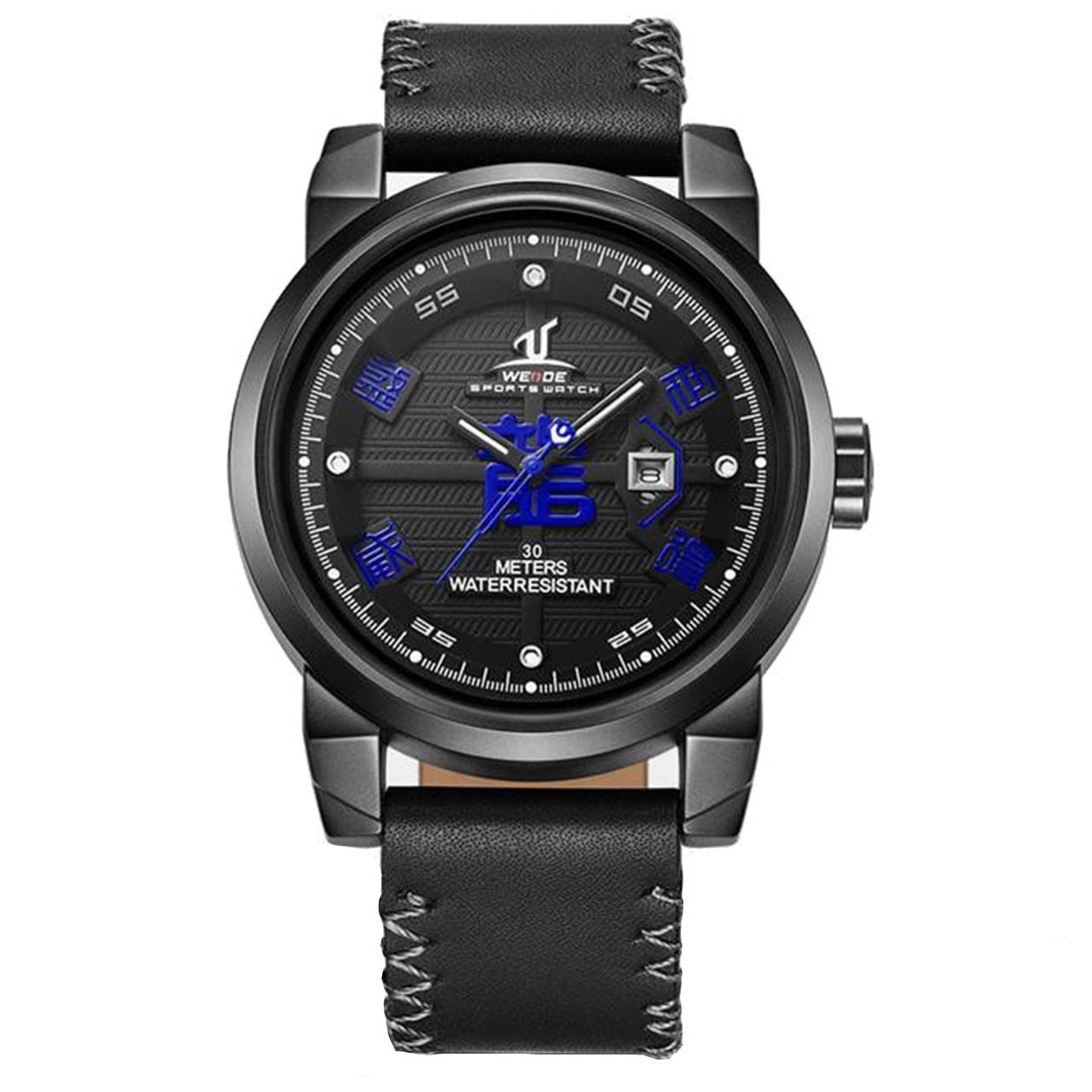 ساعت مچی عقربه ای مردانه وید مدل UV1509-BLUE