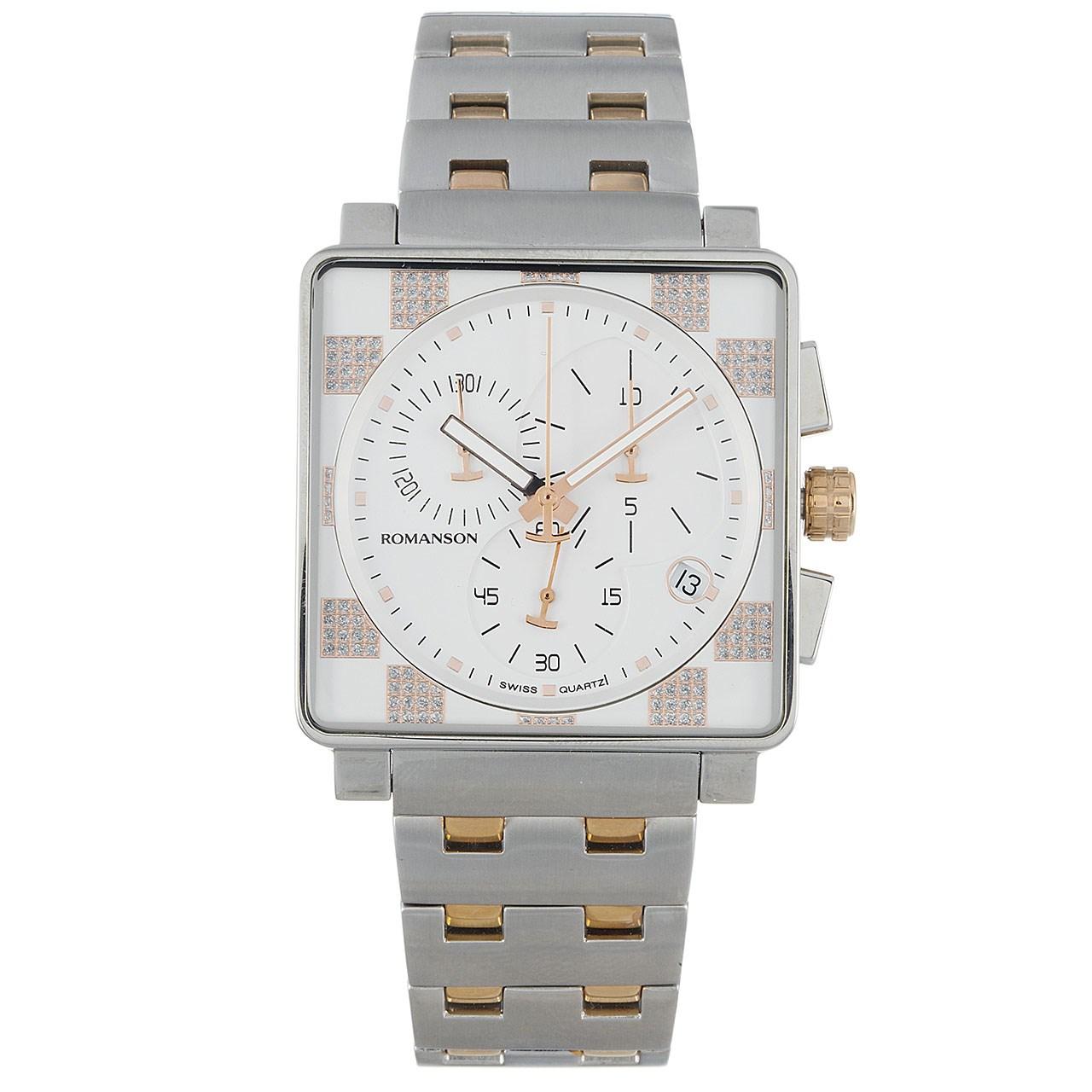 ساعت مچی عقربه ای مردانه رومانسون مدل TM9202HM1JA16R 20