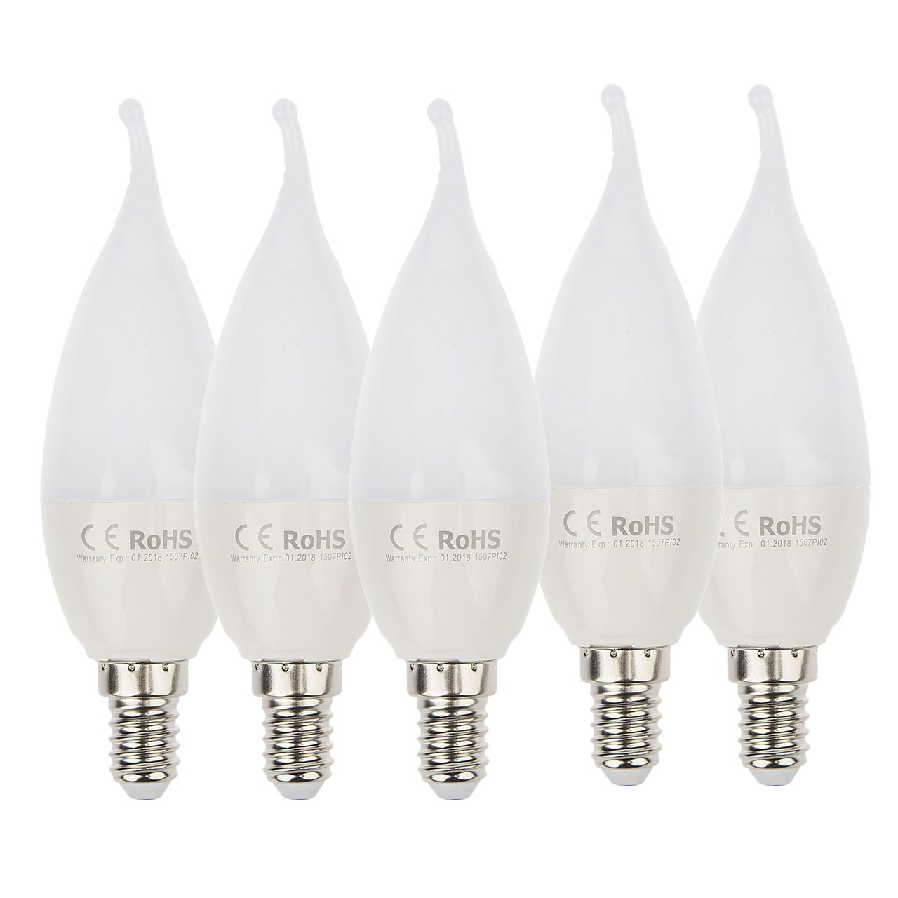 لامپ ال ای دی 6 وات کملیون مدلLED6-STF1 پایه E14 بسته 5 عددی