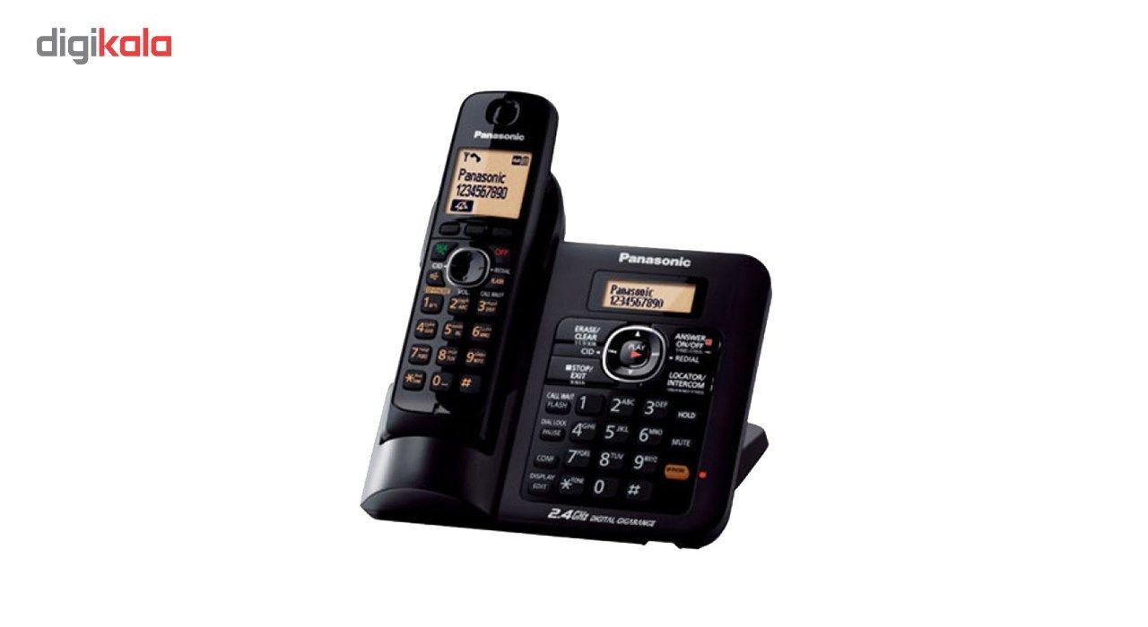 تلفن بی سیم پاناسونیک مدل KX-TG3821BX main 1 2