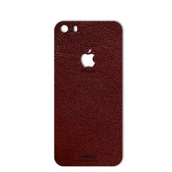 برچسب پوششی ماهوت مدلNatural Leather مناسب برای گوشی  iPhone 5S-SE