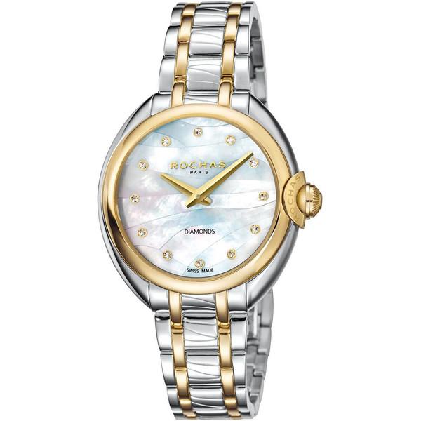 ساعت مچی عقربه ای زنانه روشاس مدل RP2L006M0101