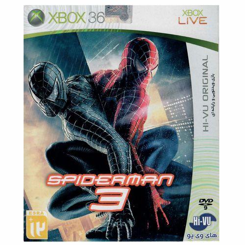 بازی Spiderman 3 مخصوص ایکس باکس360