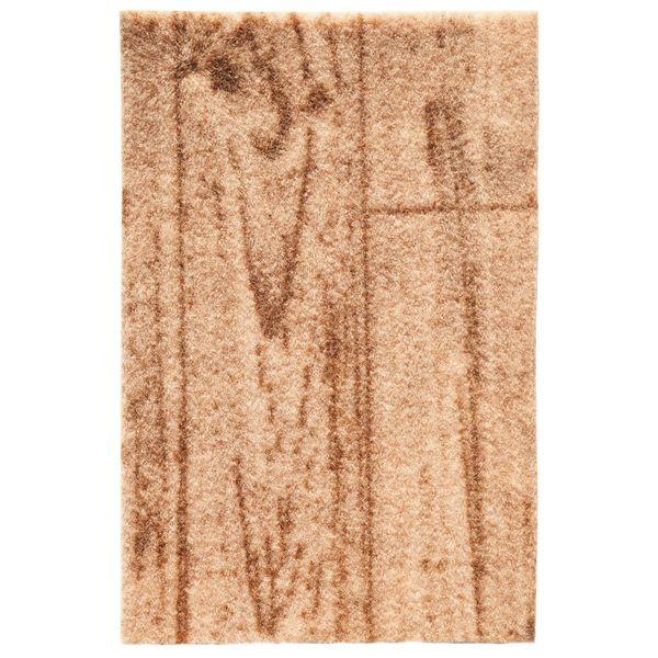 موکت ظریف مصور طرح پارکتی توسکا زمینه قهوه ای کد 3131