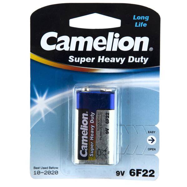 باتری کتابی کملیون مدل Super Heavy Duty 6F22