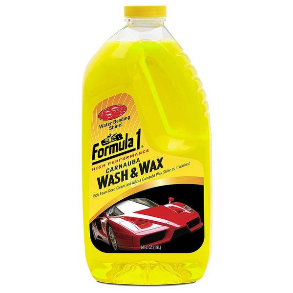 شامپو شست و شو خودرو فرمول وان مدل Wash And Wax 685672- حجم 1900 میلی لیتر