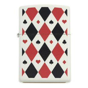 فندک زیپو مدل Poker PatternsTile Mosaic 29191