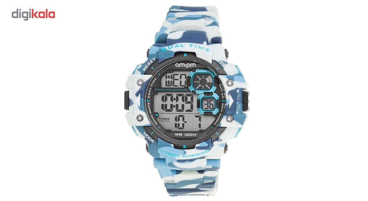 ساعت مچی دیجیتالی مردانه ای ام:پی ام مدل PC162-G391 - ای ام پی ام -  - 2