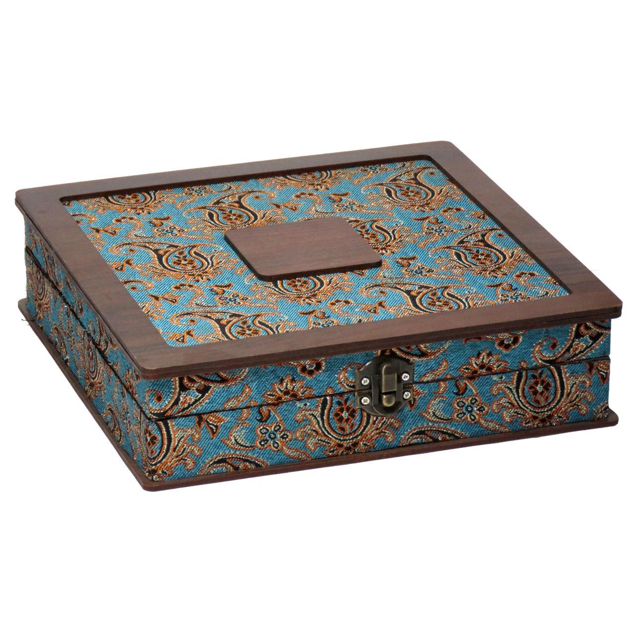 جعبه هدیه کادو دمنوش چایی کیسه ای  لوکس باکس  کد LB014