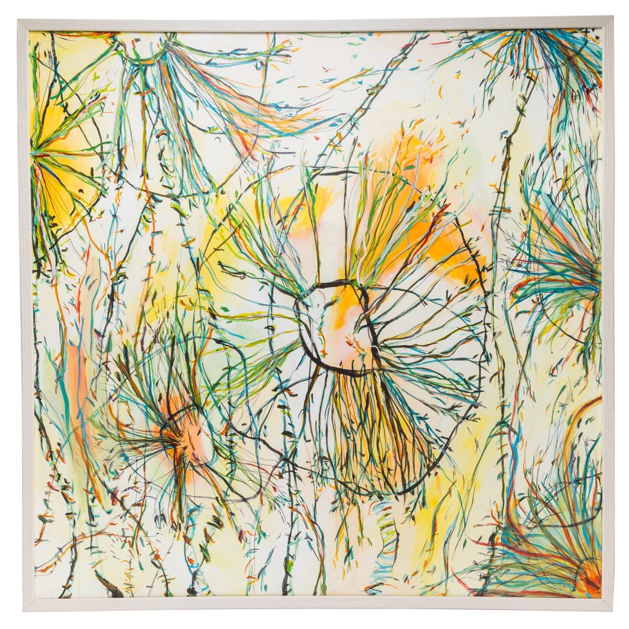 Photo of تابلو نقاشی گالری سی پرشیا طرح قاصدک کد 201320