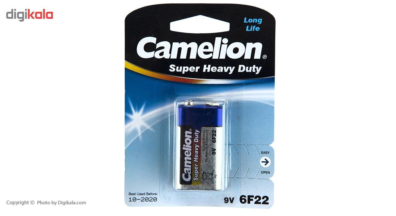 باتری کتابی کملیون مدل Super Heavy Duty 6F22 main 1 1