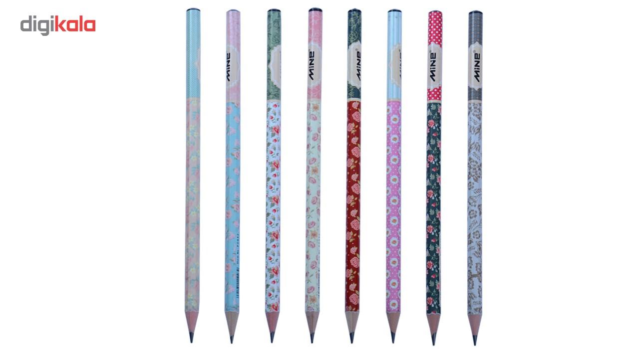 مداد مشکی ماین مدل PC852 - بسته 24 عددی main 1 1