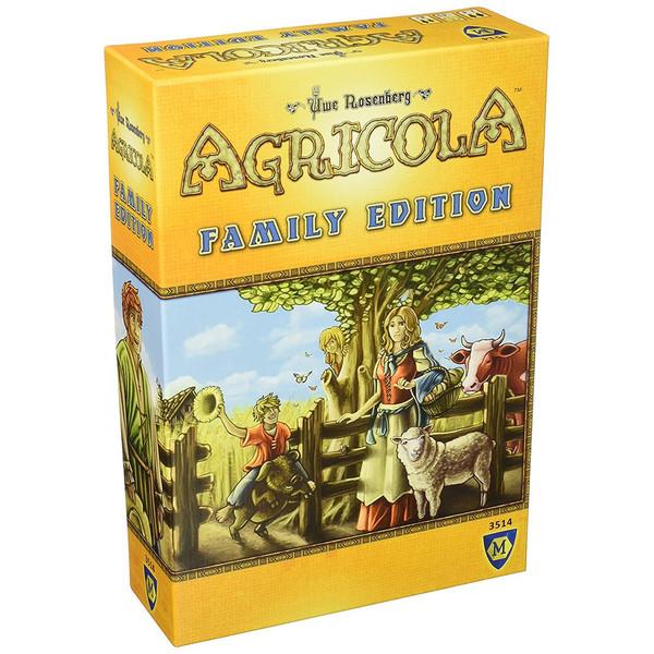 بازی رومیزی میفرگیمز مدل Agricola Family Edition
