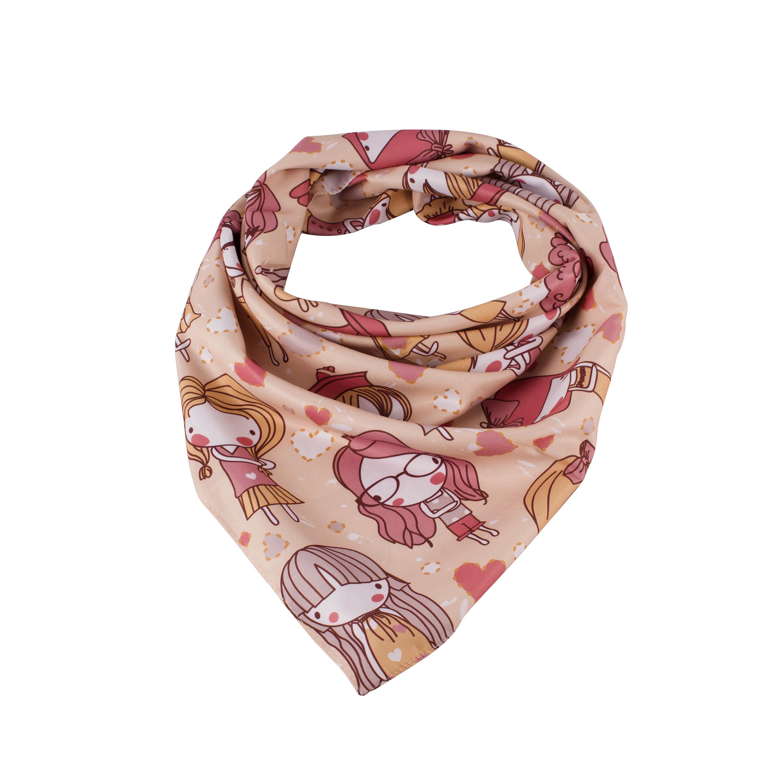 روسری دخترانه نسیما مدل T509
