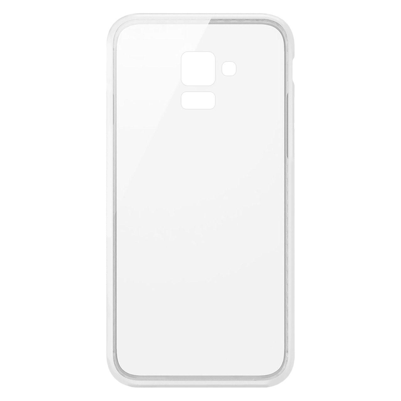 کاور  مدل Clear TPU مناسب برای گوشی موبایل سامسونگ Galaxy A8 2018