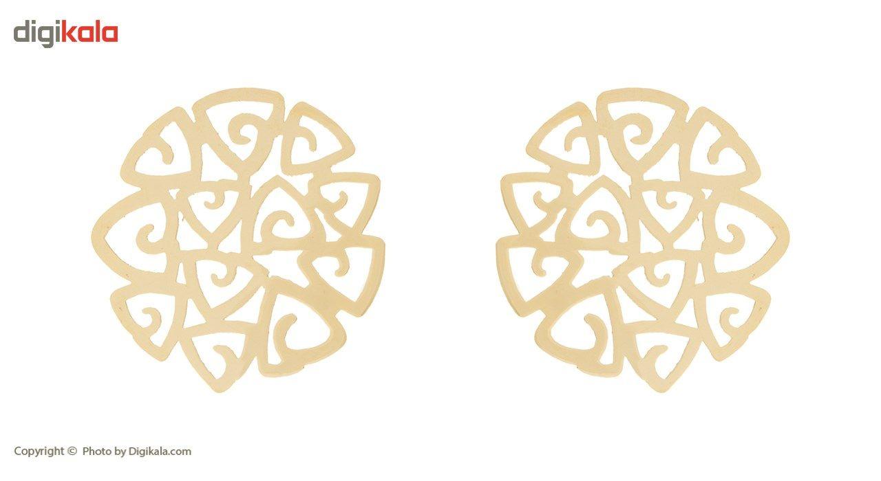 نیم ست طلا 18 عیار زنانه مایا ماهک مدل MS0308 main 1 2