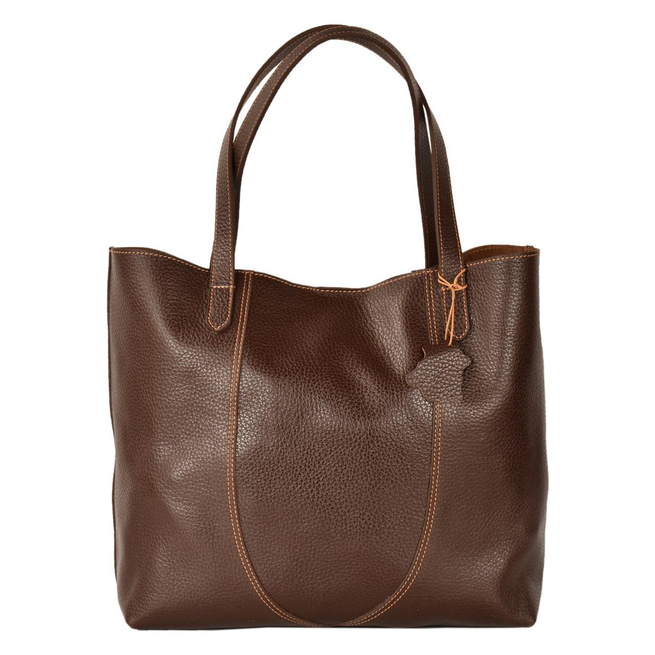 کیف دستی کهن چرم مدل V169-7