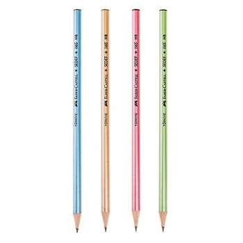 مداد مشکی فابر کاستل  مدل Sedef - بسته 4 عددی