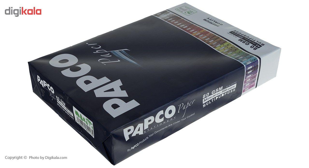 کاغذ 80 گرمی پاپکو سایز A4 بسته 5 عددی main 1 2