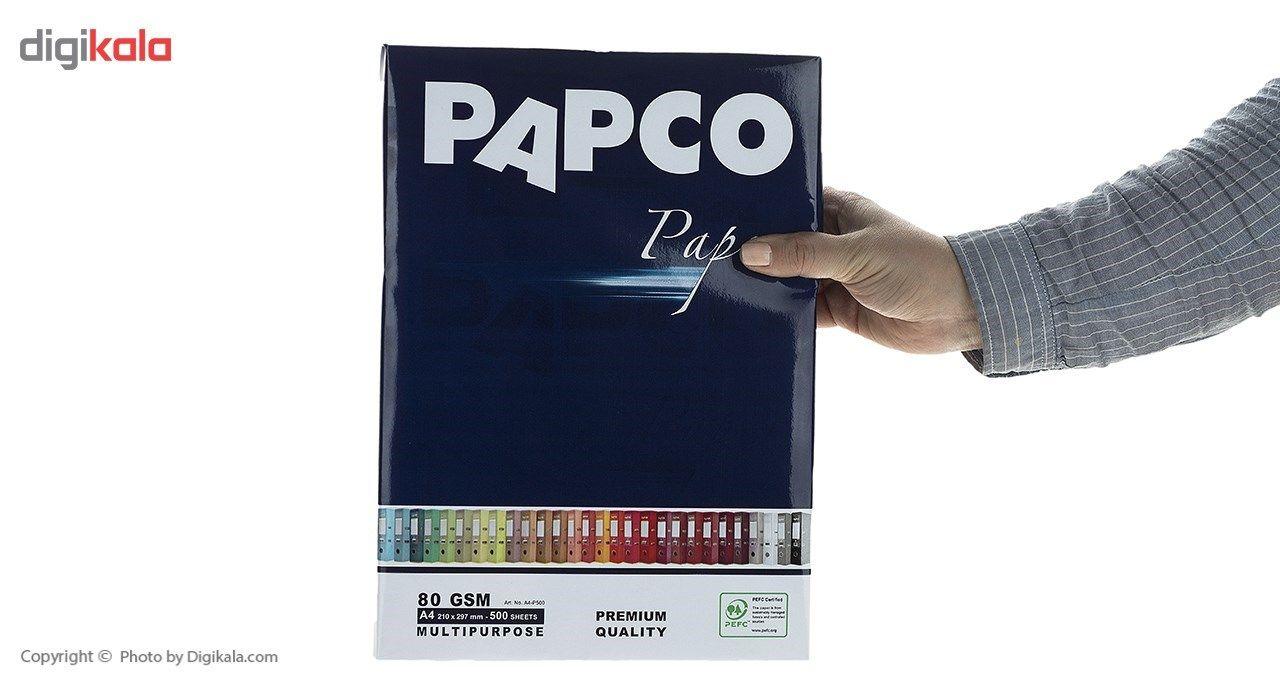 کاغذ 80 گرمی پاپکو سایز A4 بسته 5 عددی main 1 3